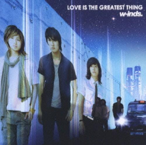 【中古】LOVE IS THE GREATEST THING(DVD付)/w−inds.