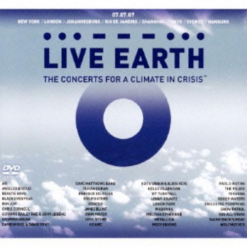 【中古】ライヴ・アース〜地球温暖化防止を訴える世界規模コンサート (DVD付)/オムニバス