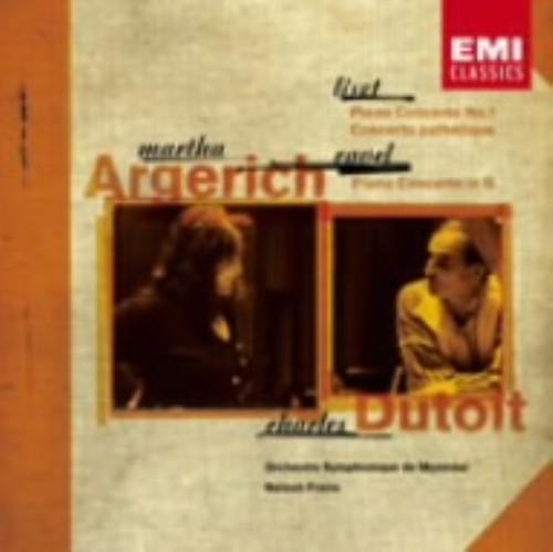 【中古】リスト:ピアノ協奏曲第1番、悲愴協奏曲、ラヴェル:ピアノ協奏曲/アルゲリッチ