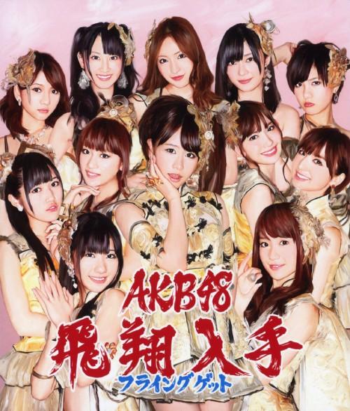 【中古】フライングゲット(DVD付)(Type−B)/AKB48
