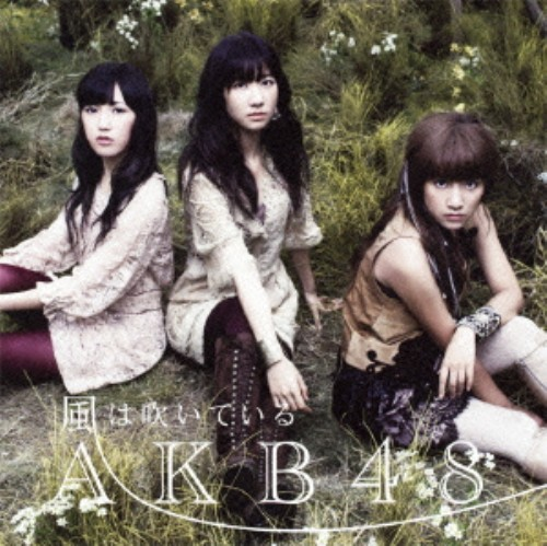 【中古】風は吹いている(初回限定盤B)(DVD付)/AKB48