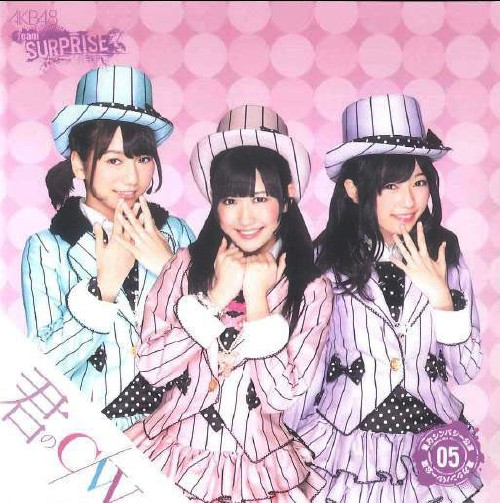 【中古】君のc/w(一般発売Ver.)(DVD付)/AKB48