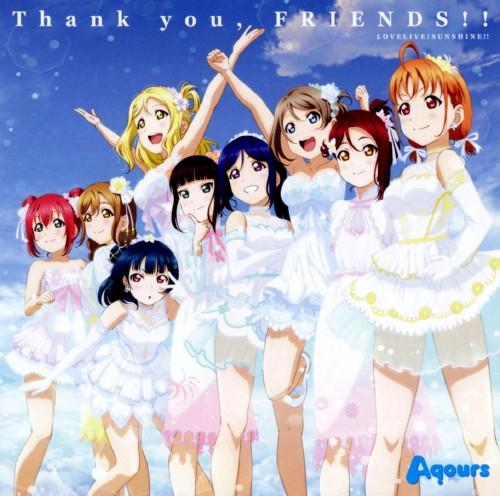 【中古】『ラブライブ!サンシャイン!!』ニューシングル「Thank you, FRIENDS!!」/Aqours