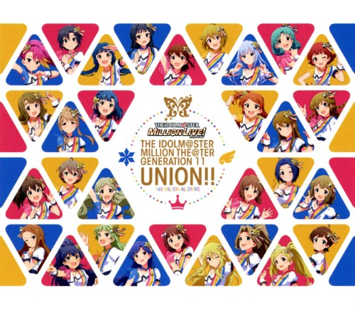 【中古】THE IDOLM@STER MILLION THE@TER GENERATION 11 UNION!!(ブルーレイ付)/765 MILLION ALLSTARS