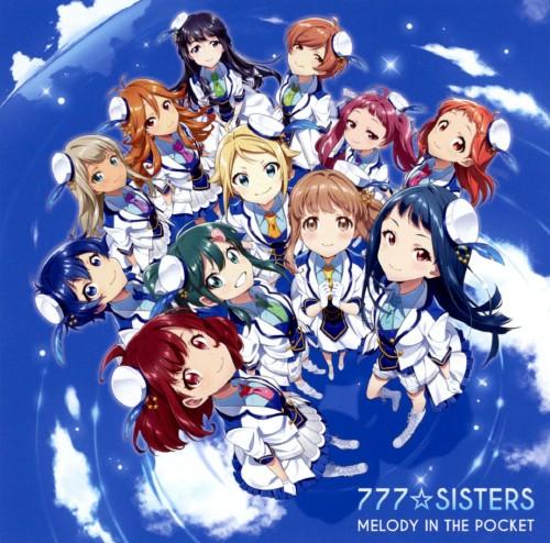 【中古】MELODY IN THE POCKET/777☆SISTERS