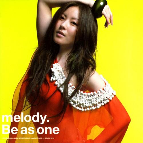 【中古】Be as one(期間限定盤)/melody.