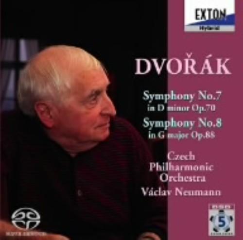 【中古】ドヴォルザーク:交響曲第7番&第8番/ノイマン