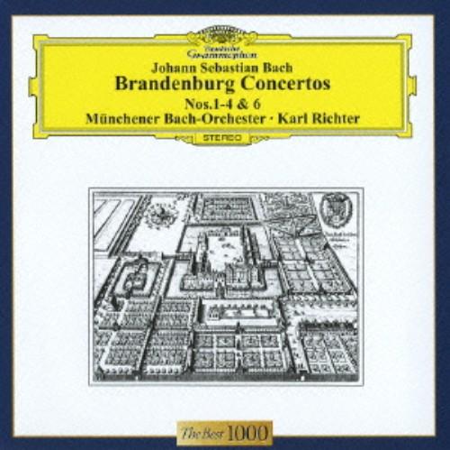 【中古】バッハ:ブランデンブルク協奏曲第1〜4番&第6番/リヒター
