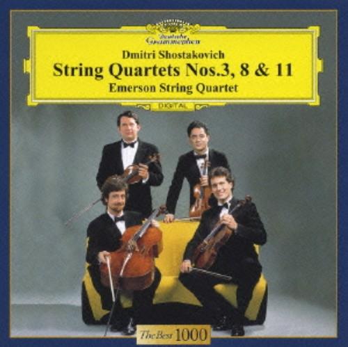 【中古】ショスタコーヴィチ:弦楽四重奏曲第3番&第8番&第11番/エマーソン弦楽四重奏団