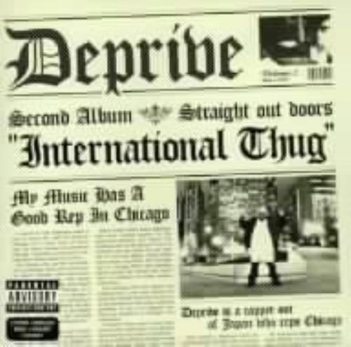 【中古】international thug/Deprive