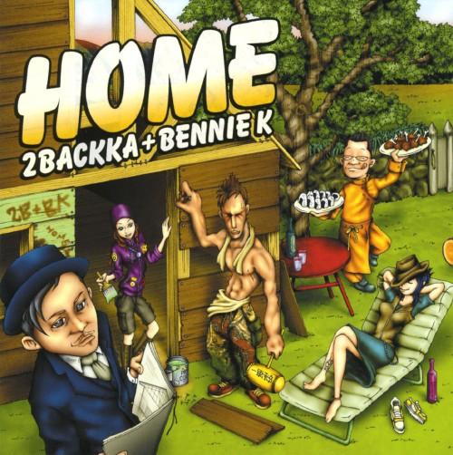 【中古】HOME/2BACKKA+BENNIE K