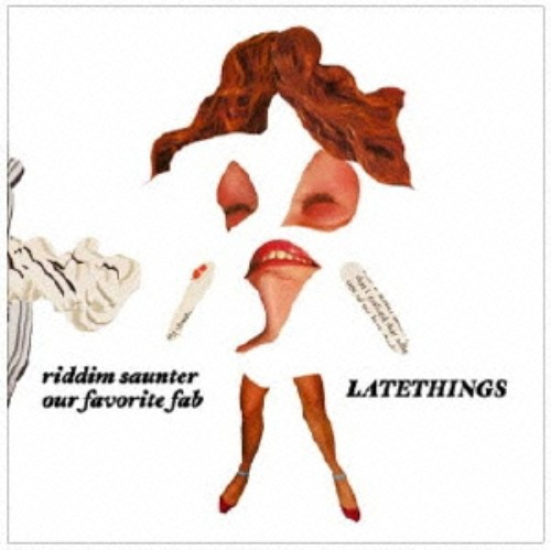 【中古】Latethings/RIDDIM SAUNTER/our favorite fab