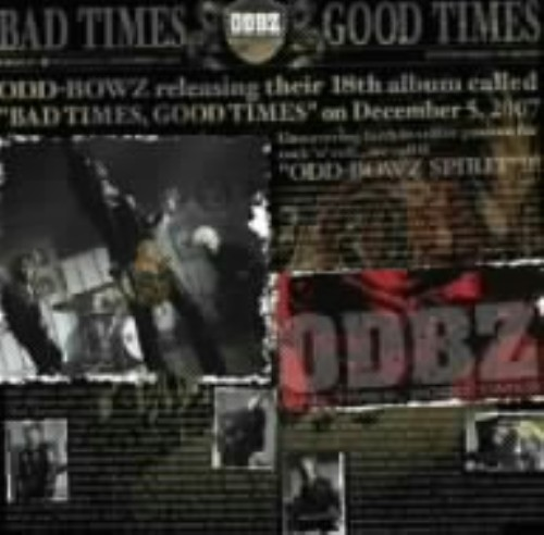 【中古】BAD TIMES,GOOD TIMES(初回限定盤)(DVD付)/横道坊主