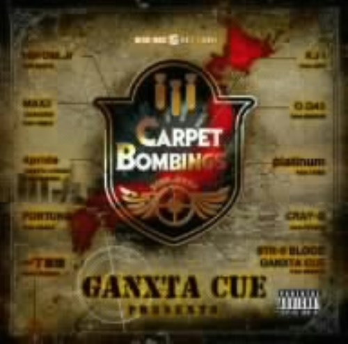 【中古】GANXTA CUE Presents CARPET BOMBINGS 2008(DVD付)/オムニバス
