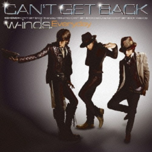 【中古】Everyday/CAN'T GET BACK(初回限定盤B)(DVD付)/w−inds.