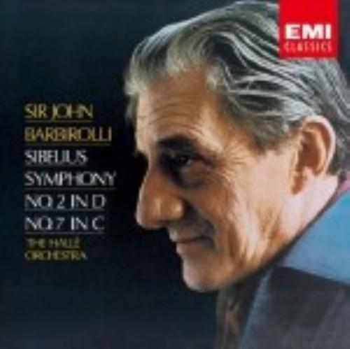 【中古】シベリウス:交響曲第2番、第7番/バルビローリ&ハレ管弦楽団