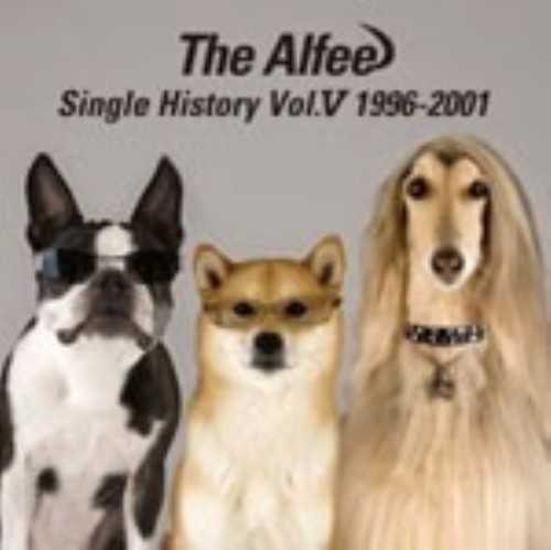 【中古】SINGLE HISTORY VOL.V 1996−2001(完全生産限定盤)/アルフィー