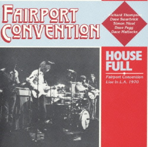【中古】ハウス・フル+2(初回限定盤)/フェアポート・コンヴェンション