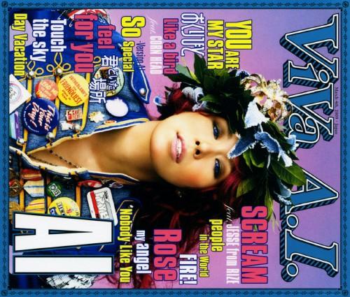 【中古】VIVA A.I.(初回限定盤)(DVD付)/AI