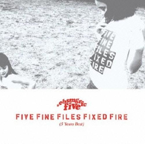 【中古】FIVE FINE FILES FIXED FIRE(5 Years Best)/CUBISMO GRAFICO FIVE