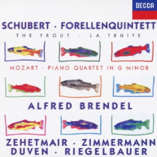 【中古】シューベルト:ピアノ五重奏曲<ます>/モーァルト:ピアノ四重奏曲第1番/ブレンデル