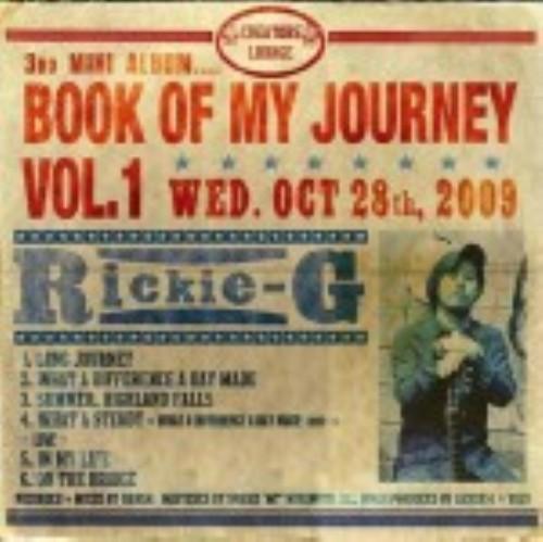 【中古】BOOK OF MY JOURNEY VOL.1(初回生産限定盤)(DVD付)/Rickie−G