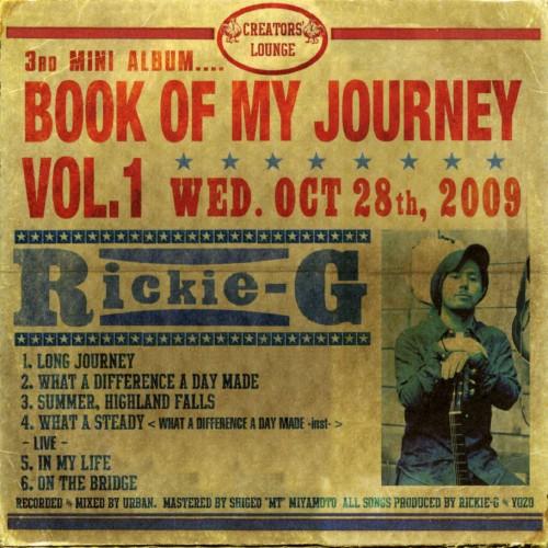【中古】BOOK OF MY JOURNEY VOL.1/Rickie−G