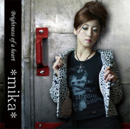 【中古】Brightness of a heart(完全生産限定盤)/*mika*