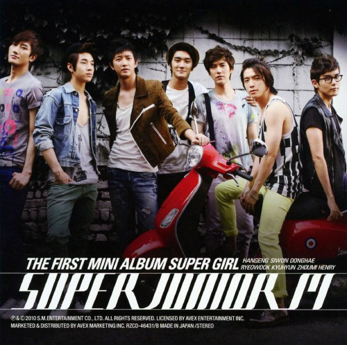 【中古】THE FIRST MINI ALBUM 『SUPER GIRL』(DVD付)/SUPER JUNIOR−M