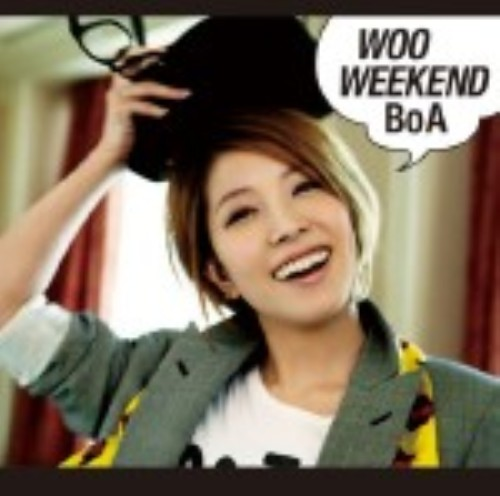 【中古】WOO WEEKEND(DVD付)/BoA