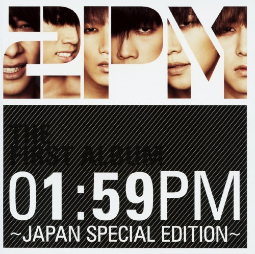 【中古】01:59PM〜JAPAN SPECIAL EDITION〜(初回生産限定盤)(DVD付)/2PM