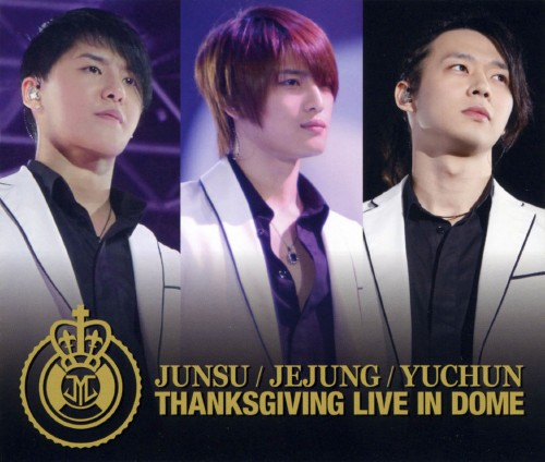 【中古】THANKSGIVING LIVE IN DOME LIVE CD/JUNSU/JEJUNG/YUCHUN