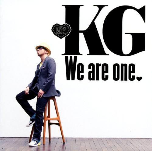 【中古】We are one(初回限定スペシャルプライス盤)/KG