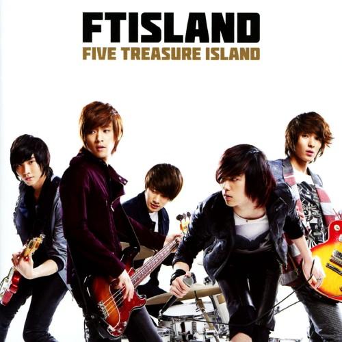 【中古】FIVE TREASURE ISLAND(初回限定盤A)(DVD付)/FTISLAND