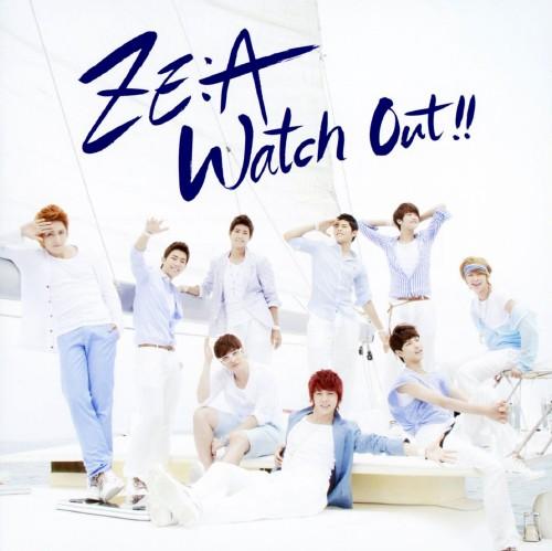【中古】Watch Out〜熱愛注意報〜(DVD付)(Type−B)/ZE:A