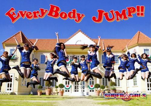 【中古】EveryBody JUMP!!(初回生産限定盤)(DVD付)/SUPER☆GiRLS