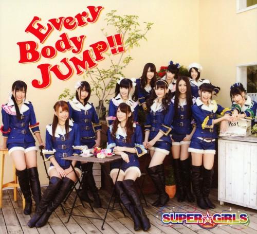 【中古】EveryBody JUMP!!(DVD付)/SUPER☆GiRLS