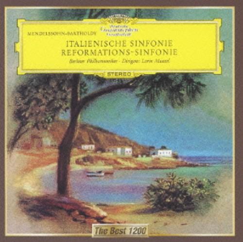 【中古】メンデルスゾーン:交響曲第4番「イタリア」、第5番「宗教改革」/マゼール