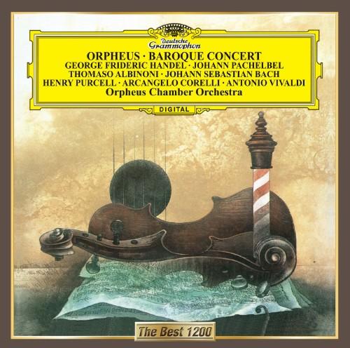 【中古】パッヘルベルのカノン〜バロック名曲集/オルフェウス室内管弦楽団