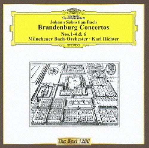 【中古】バッハ:ブランデンブルク協奏曲第1番−第4番,第6番/リヒター