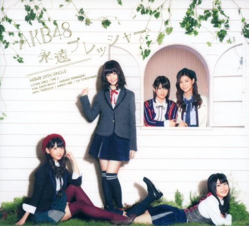 【中古】永遠プレッシャー(DVD付)(Type−C)/AKB48