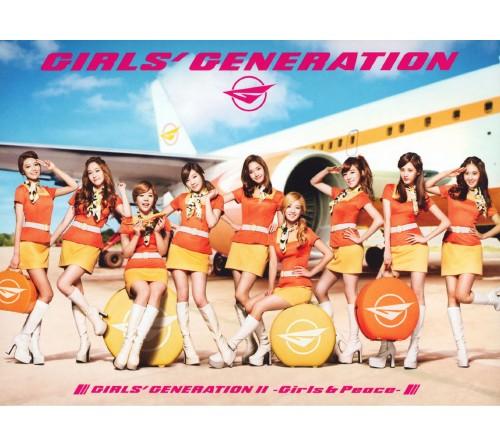 【中古】GIRLS' GENERATION II〜Girls&Peace〜(初回限定盤B)(DVD付)/少女時代