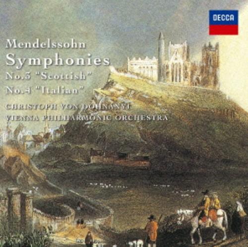 【中古】メンデルスゾーン:交響曲第3番「スコットランド」&第4番「イタリア」 他/ドホナーニ