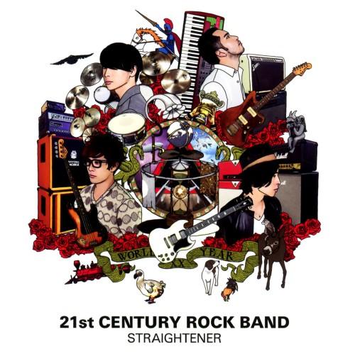 【中古】21st CENTURY ROCK BAND(CD+2DVD)/ストレイテナー