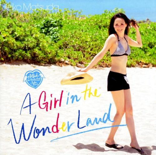 【中古】A Girl in the Wonder Land(初回限定盤A)(DVD付)/松田聖子