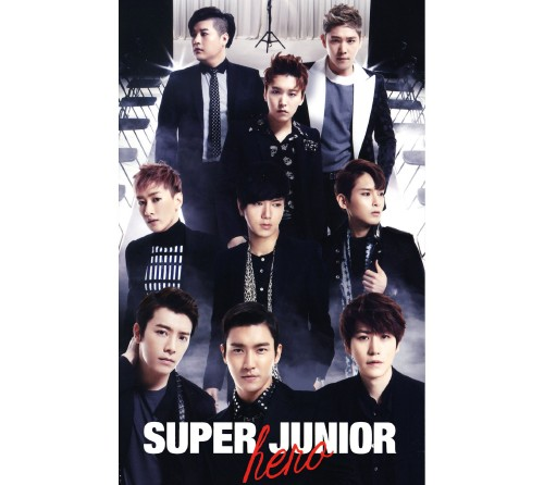 【中古】Hero(初回限定盤)(2CD+DVD)/SUPER JUNIOR