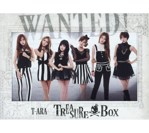 【中古】TREASURE BOX(DVD付)(サファイア盤)/T−ARA
