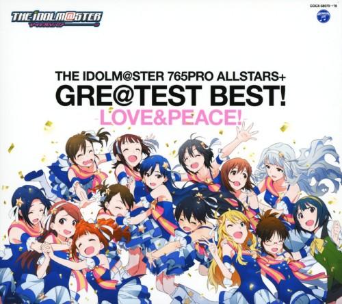 【中古】THE IDOLM@STER 765PRO ALLSTARS+GRE@TEST BEST!−LOVE&PEACE!−/765PRO ALLSTARS+