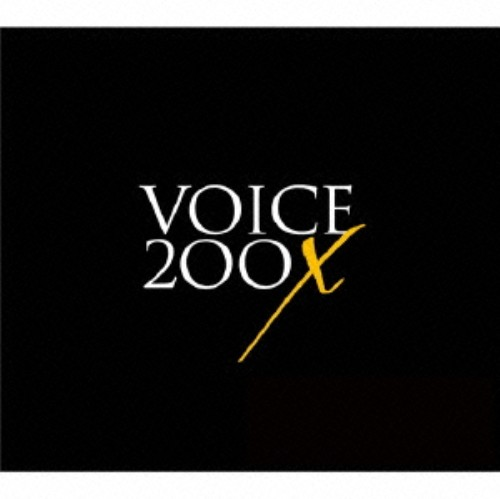 【中古】VOICE 200X(初回生産限定プレミアム盤)(DVD付)/青木隆治