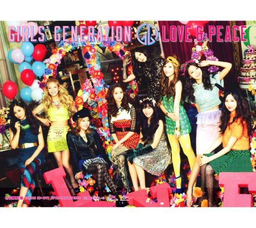 【中古】LOVE&PEACE(初回限定盤)(DVD付)/少女時代